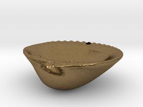 Palm Beach Sea Shell Pendant in Natural Bronze