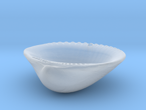 Palm Beach Sea Shell Pendant in Smooth Fine Detail Plastic
