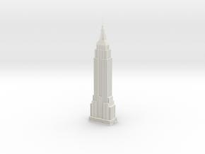 Empire State Building in White Natural Versatile Plastic