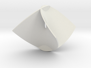 Enneper Minimal Surface in White Strong & Flexible