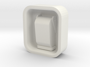 Latches in White Natural Versatile Plastic