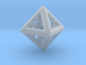 Triangle Fractal  DL3 in Smooth Fine Detail Plastic