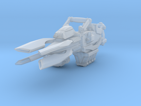 Advanced Lightning Cannon 001a (carried) in Smooth Fine Detail Plastic