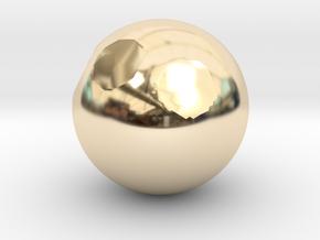 Sphere1 in 14K Gold