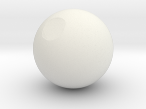 Sphere3 in White Strong & Flexible