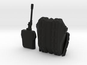 Tank 2 Printable in Black Strong & Flexible