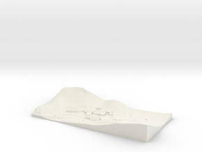 topographical overlay in White Natural Versatile Plastic