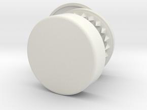 Dixavador Papelito Classic Alpha 1 in White Natural Versatile Plastic