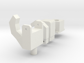 Leg Hand Trigger in White Natural Versatile Plastic