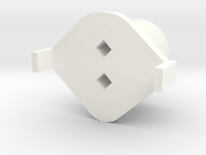 Topre to MX Slider v2.0beta in White Strong & Flexible Polished