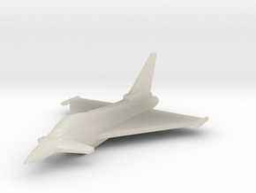 1/285 Scale (6mm) Eurofighter Typhoon  in White Acrylic