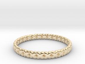 Clover Bracelet A in 14K Yellow Gold