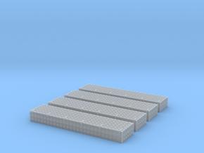 Dachkasten  46x10x5mm Mit Krähenfussblech-Schanier in Smooth Fine Detail Plastic