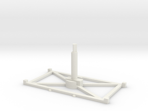 Stand Wide x1 3.0 in White Natural Versatile Plastic