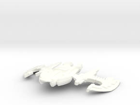 Xindi Insectoid Marauder in White Strong & Flexible Polished