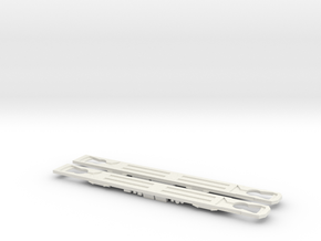 Plan V, v1 chassis in White Natural Versatile Plastic