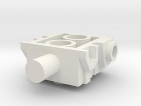 Quadrapedbodyv2 in White Natural Versatile Plastic