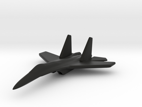 1/285 (6mm) Chinese J-11 in Black Strong & Flexible