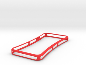 Brute for iPhone 5 - Thin but Tough in Red Processed Versatile Plastic