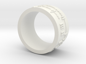 ring -- Tue, 26 Feb 2013 21:45:23 +0100 in White Natural Versatile Plastic
