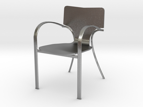 "Strada Chair 3.7"" tall in Natural Silver"