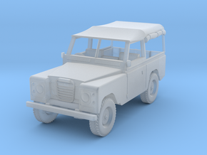 1/76 Scale Land Rover in Smooth Fine Detail Plastic