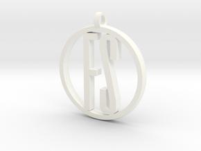 Fstoppers Pendant  in White Processed Versatile Plastic