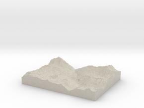 Model of La Daille in Natural Sandstone