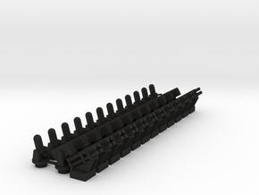 CIWS+RAM+Harpoon (x12) in Black Acrylic