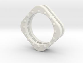 Ring 40 in White Natural Versatile Plastic