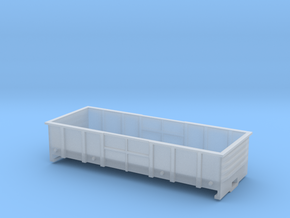 LC Wagon, New Zealand, (HO Scale, 1:87) in Smooth Fine Detail Plastic