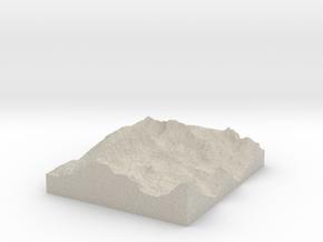 Model of Whitney Portal in Sandstone