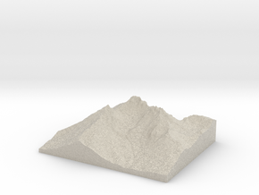 Model of Crook Glacier in Natural Sandstone