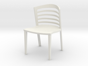 "Lowenstein Chair 3.8"" tall in White Natural Versatile Plastic"