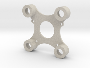 DJI Zenmuse H3-3D Adapterplatte / Adapter Plate To in Natural Sandstone