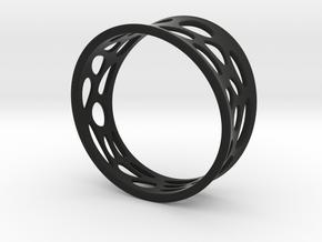 Ringometric A in Black Natural Versatile Plastic