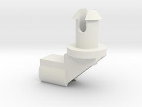 Dishwasher-clip in White Natural Versatile Plastic