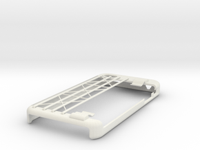 Business Card Holder iPhone Case in White Strong & Flexible