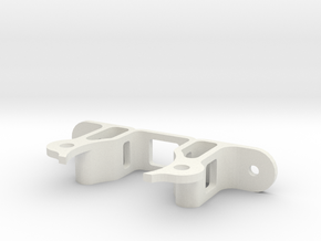 Stepper motor support 1 in White Strong & Flexible