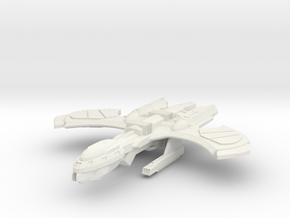 Decius Class Refit Cuiser in White Strong & Flexible