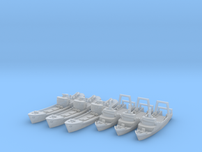 Trawlers (UK) 1/1250  in Smooth Fine Detail Plastic