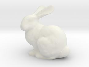 Bunnyr in White Natural Versatile Plastic