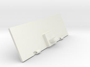 VOLVO-grill-lower in White Natural Versatile Plastic