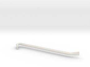 Crowbar in White Natural Versatile Plastic