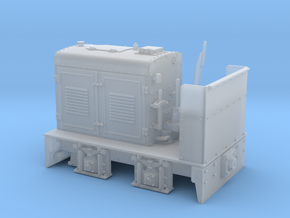 Henschel Feldbahnlok Typ DG13 Spur 0e/f 1:45 in Smooth Fine Detail Plastic