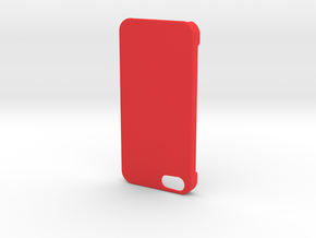 IPhone 5 / 5S Case in Red Strong & Flexible Polished