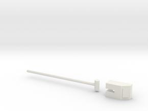 Apollo SM HGA Arm 1:10 in White Natural Versatile Plastic