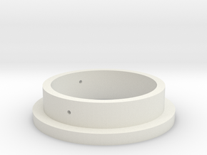 Spacer for Alessandro MS-1000 Modification (MS-1) in White Natural Versatile Plastic