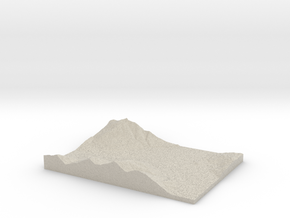 Model of Balfour in Natural Sandstone