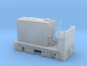 Henschel Feldbahnlok Typ DG26 1:35 in Smooth Fine Detail Plastic